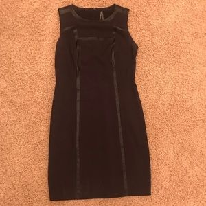 Marc New York Andrew Marc Black Shift Dress size 4